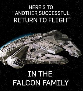 falcon congrats