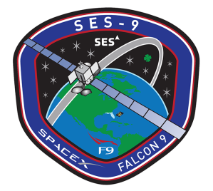 SES-9 Mission Patch