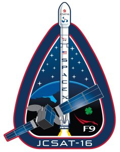 JCSAT mission patch