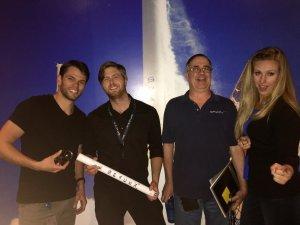 SpaceX webcast team