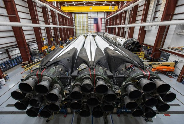 Falcon Heavy engines